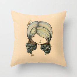 Anne n Belle Throw Pillow