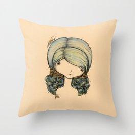 Anne n Belle Throw Pillow