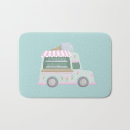 Ice Cream Truck Bath Mat