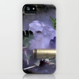 Bullet Smokey Crystals iPhone Case