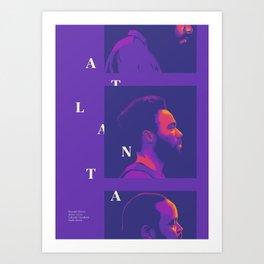 Atlanta Art Print