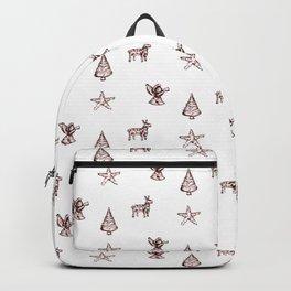 Chrismas tree decor pattern Backpack