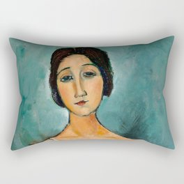 "Amedeo Modigliani ""Christina"" Rectangular Pillow"