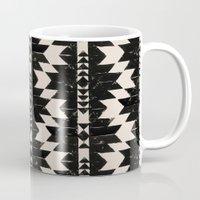 navajo Mugs featuring NAVAJO by bows & arrows