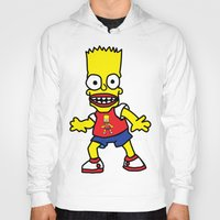 simpson Hoodies featuring Bart Simpson by GOONS