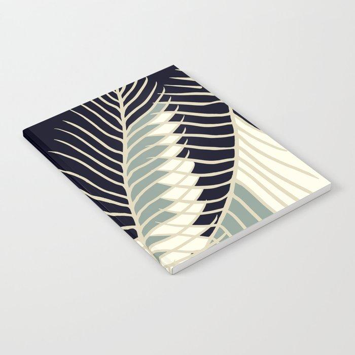 Oriental Palm Riddle Vintage Notebook