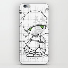 Marvin Plan iPhone Skin