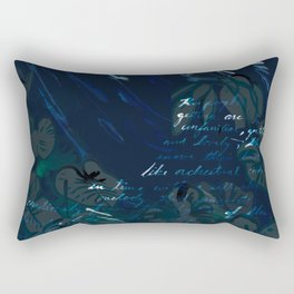 """Conquest of the Useless"" by Werner Herzog Print (v. 6) Rectangular Pillow"