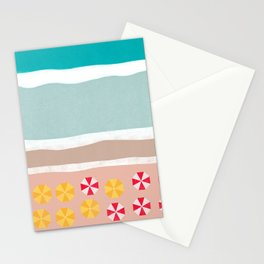 Beach Resort Stationery Cards
