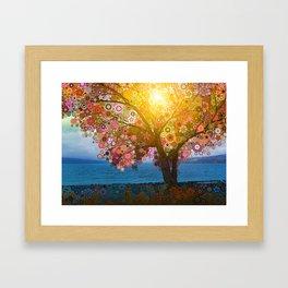 Cayuga Framed Art Print