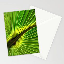 Green Burst Stationery Cards