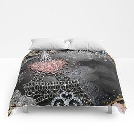 Paris Bling Comforters