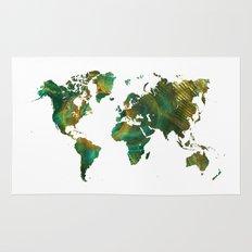 World Map Green World