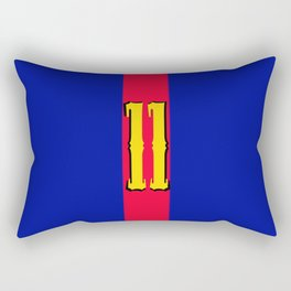 football team 1 number eleven Rectangular Pillow