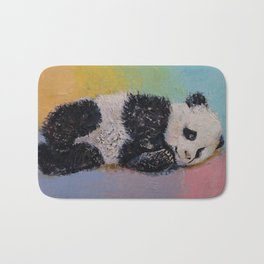 Baby Panda Rainbow Bath Mat