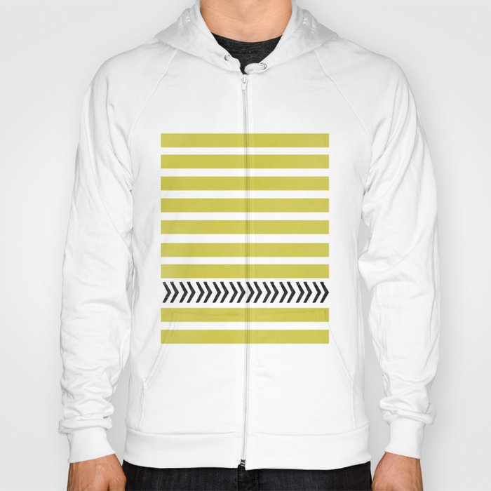 STRIPES AND ARROWS Hoody