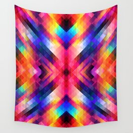 PSYCHO GEOMETRY Wall Tapestry