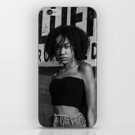 De'ja and the Police iPhone Skin