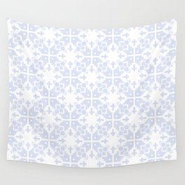 Pale blue gray no.21 Wall Tapestry