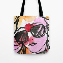 70s girl Tote Bag