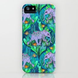 Little Elephant on a Jungle Adventure iPhone Case