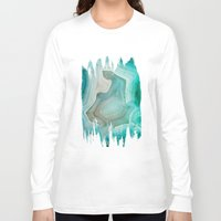 lemon Long Sleeve T-shirts featuring THE BEAUTY OF MINERALS 2 by Catspaws