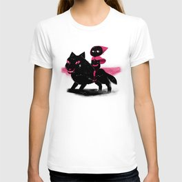Red Wolf Riding Hood T-shirt