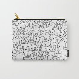 Dog Doodle Art Carry-All Pouch