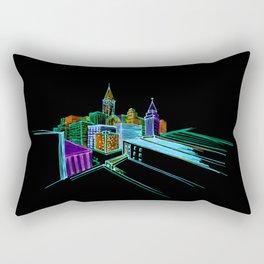 Vibrant city 2 Rectangular Pillow