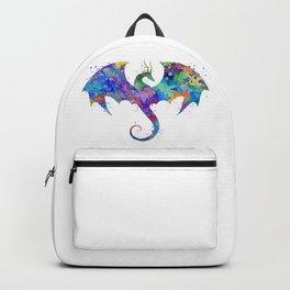 Dragon Colorful Watercolor Art Backpack