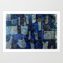 Twists and Turns Art Print