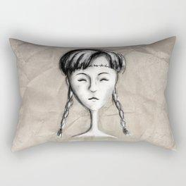 Mae girl Rectangular Pillow
