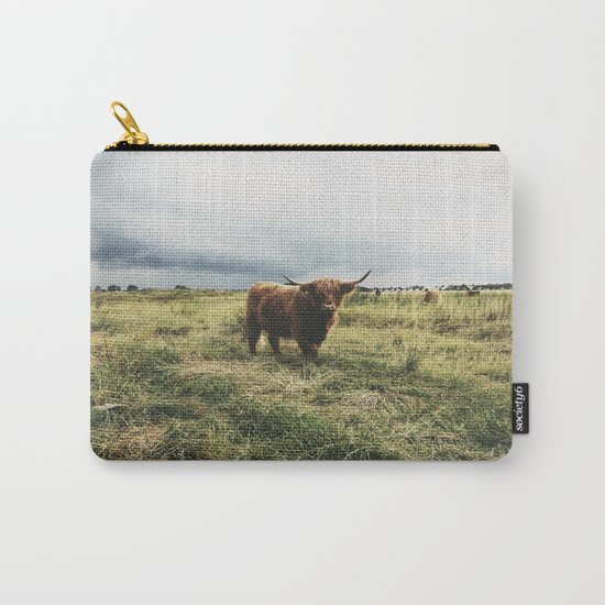 Landscape Bull Carry-All Pouch