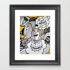 BODY PART I Framed Art Print