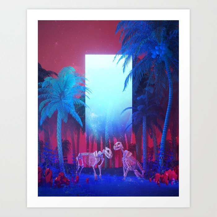 OLD GUARD (everyday 03.05.18) Art Print