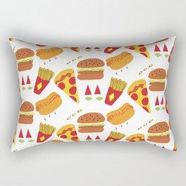 Vector Food Rectangular Pillow