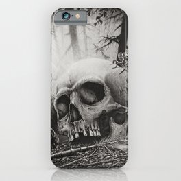 A Distance Silence iPhone Case