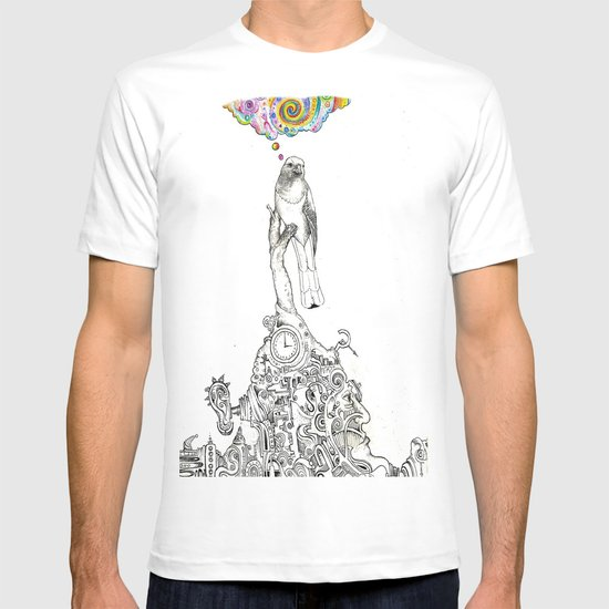 Bird Thought 1 T-shirt