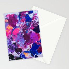 Paint Palette Stationery Cards