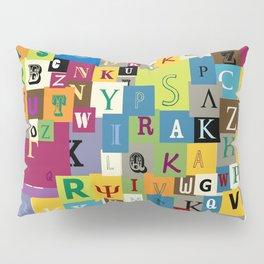 Alphabet Pillow Sham