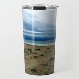 Farm beach cloudscape Travel Mug