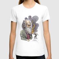 darwin T-shirts featuring Darwin by ElenaTerrin