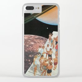 People of Titan Clear iPhone Case
