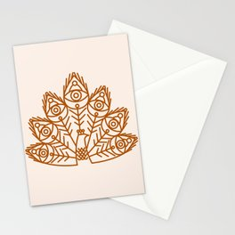 Cosmic Peacock Stationery Cards
