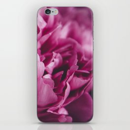 peonies [moody] 02 iPhone Skin