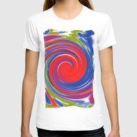 circle T-shirts featuring circle by Karl-Heinz Lüpke