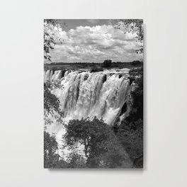 Victoria Falls  Metal Print