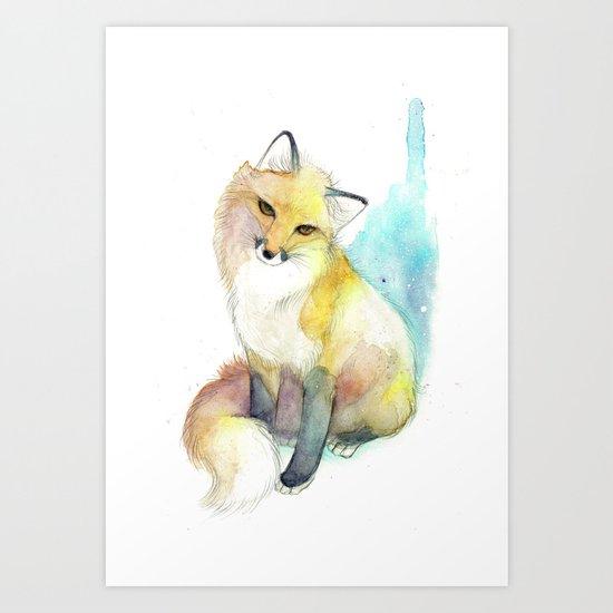 Little Foxy Art Print