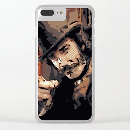 Gangs of New York Clear iPhone Case