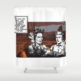 Shongsaha Shower Curtain